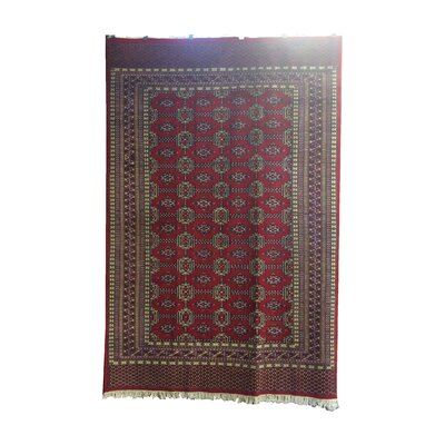 One-of-a-Kind Eowyn Hand-Knotted Wool Red/ Area Rug