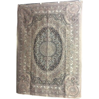 One-of-a-Kind Magill Hand-Knotted Wool Ivory/Beige Area Rug