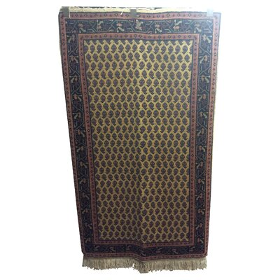 One-of-a-Kind Woodruff Mir Hand-Knotted Wool Brown/Blue Area Rug