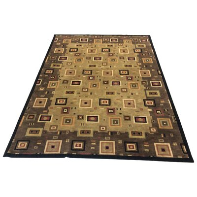 One-of-a-Kind Chamorro Hand-Knotted Wool Brown/Ivory Area Rug