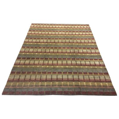 One-of-a-Kind Chamorro Hand-Knotted Wool Red Area Rug