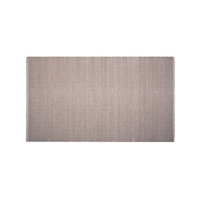 Mcgreevy Hand-Woven Cotton Beige Area Rug Rug Size: Rectangle 4 x 6