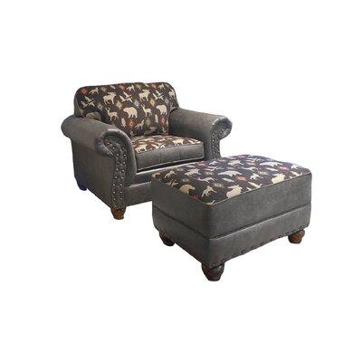 Pelley Club Chair and Ottoman
