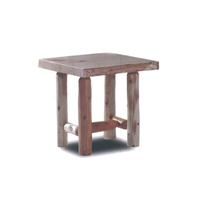 Pellston Log End Table