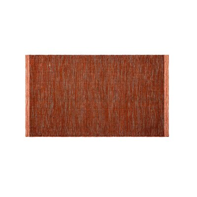 Marciano Hand-Woven Apricot Indoor/Outdoor Area Rug Rug Size: Rectangle 4 x 6