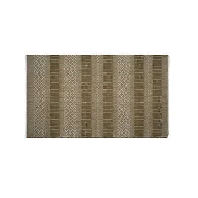 Marciano Hand-Woven Green Indoor/Outdoor Area Rug Rug Size: Rectangle 6 x 9