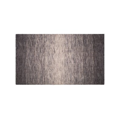 Mcgrew Hand-Woven Gray Indoor/Outdoor Area Rug Rug Size: Rectangle 4 x 6