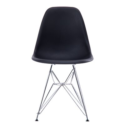 Jambi Modern Dining Chair Color: Black