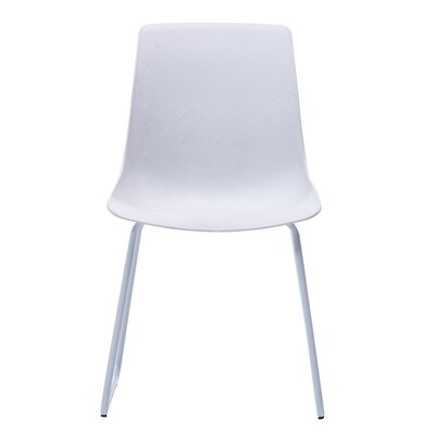 Ashbaugh Modern Dining Chair Color: White