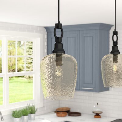 Caden 1-Light Mini Pendant Size: 22.25 H x 11.5 W x 11.5 D