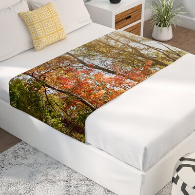 Sylvia Coomes Autumn Trees 1 Bed Runner