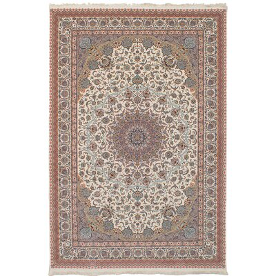 Hudgins Mashad Cream Area Rug