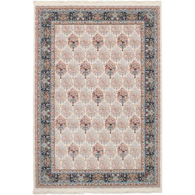 Hudgins Bijar Cream Area Rug