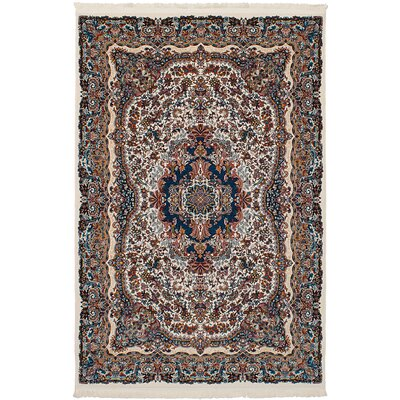Hudgins Isfahan Brown Area Rug Rug Size: Rectangle 67 x 910