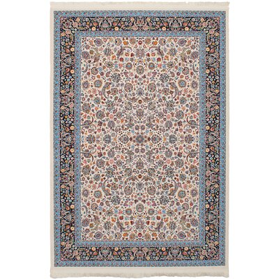 Hudgins Nain Cream Area Rug Rug Size: Rectangle 411 x 75