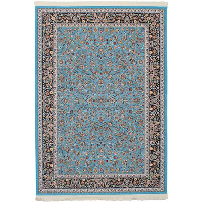 Hudgins Nain Sky Blue Area Rug Rug Size: Rectangle 411 x 75