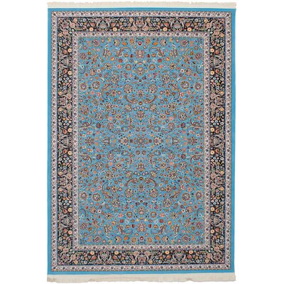 Hudgins Nain Sky Blue Area Rug Rug Size: Rectangle 67 x 910