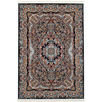 Hudgins Isfahan Brown Area Rug Rug Size: Rectangle 411 x 75