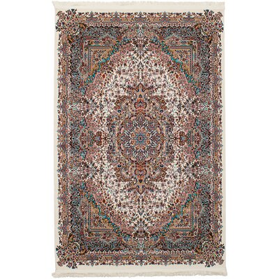 Hudgins Tabriz Brown Area Rug Rug Size: Rectangle 67 x 910