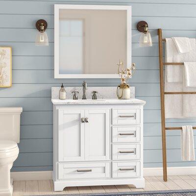 Frieda 36 Single Bathroom Vanity with Mirror