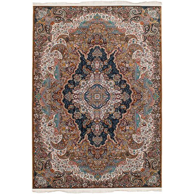 Hudgins Tabriz Light Brown Area Rug
