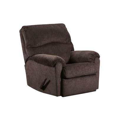 Costilla Rocker Recliner Reclining Type: Manual, Upholstery: Coffee