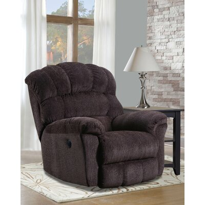 Costales Easy Rider Rocker Recliner Reclining Type: Power, Upholstery: Brown