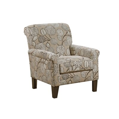Penfield Armchair by Simmons Upholstery Upholstery: Stone