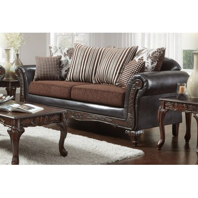 Lummus Sofa Upholstery: Brown