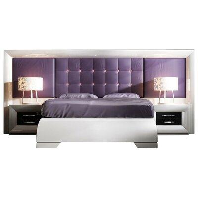 Glenoe Special Headboard Platform 4 Piece Bedroom Set Size: King