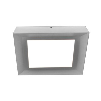 Seale Flush Mount Fixture Finish: Satin Nickel