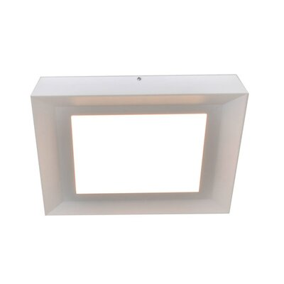 Seale Flush Mount Fixture Finish: White