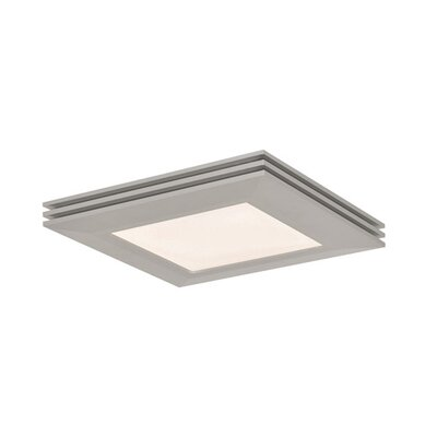 Seagraves Flush Mount Fixture Finish: Satin Nickel
