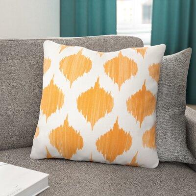 Tona Cotton Throw Pillow Size: 18 H x 18 W x 4 D, Filler: Down