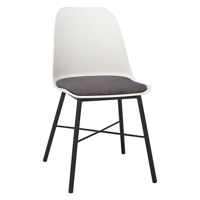 Acrion Whistler Dining Chair (Set of 2) Back Color: White