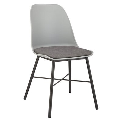 Acrion Whistler Dining Chair (Set of 2) Back Color: Gray