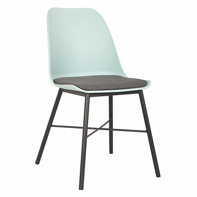 Acrion Whistler Dining Chair (Set of 2) Back Color: Light Blue