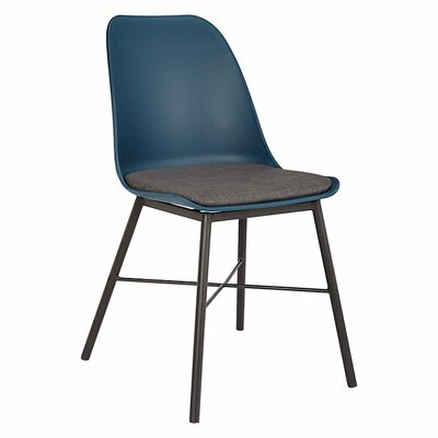 Acrion Whistler Dining Chair (Set of 2) Back Color: Navy