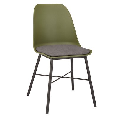 Acrion Whistler Dining Chair (Set of 2) Back Color: Olive Green