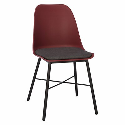 Acrion Whistler Dining Chair (Set of 2) Back Color: Burgundy