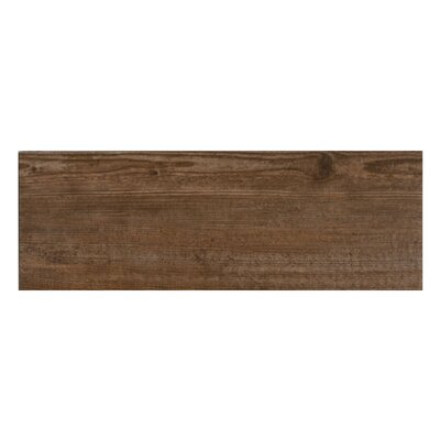 Bayur Nogal 6.8 x 19.5 Ceramic Wood Look Tile in Walnut