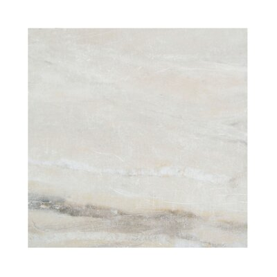 Pearl 12 x 12 Porcelain Field Tile in Almond