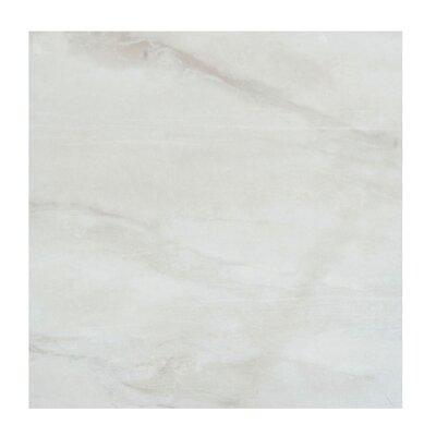 Pearl 12 x 12 Porcelain Field Tile in Silver