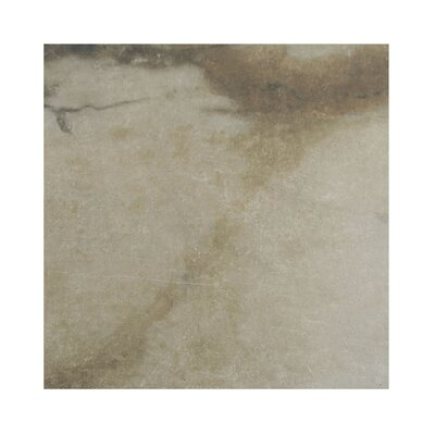 Pearl 12 x 12 Porcelain Field Tile in Camel