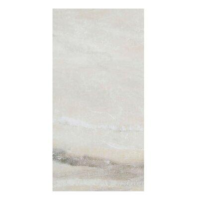 Pearl 12 x 24 Porcelain Field Tile in Almond