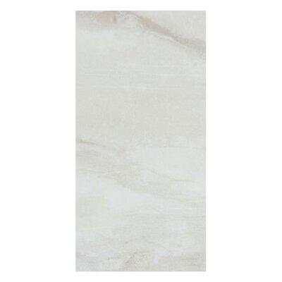 """Pearl 12"""" X 24"""" Porcelain Field Tile In Silver"""