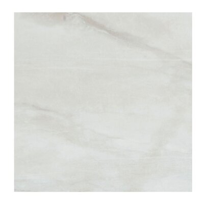 Pearl 18 x 18 Porcelain Field Tile in Silver