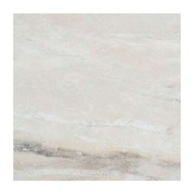 Pearl 18 x 18 Porcelain Field Tile in Almond