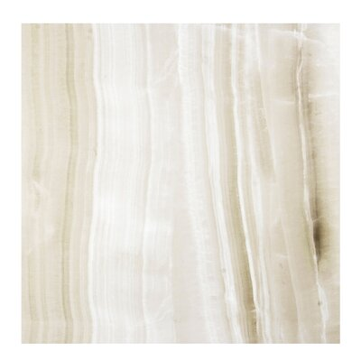 Agata Marble 24 x 24 Porcelain Field Tile in Beige