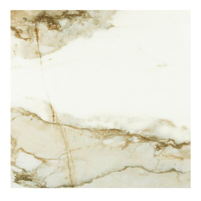 Nelia Blanco Marble 24 x 24 Porcelain Field Tile in White